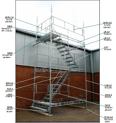 Stair Towers HAKI