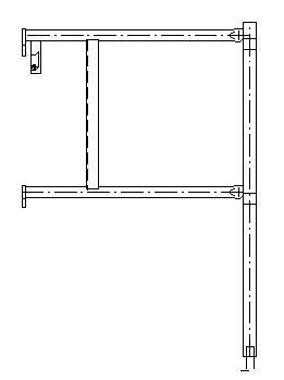 Zábradlový rám výstupu TEGG