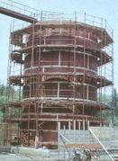 HAKI circular scaffolding